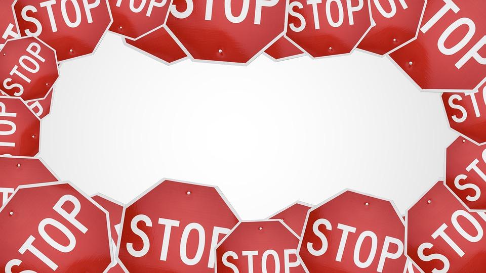 stop、大量
