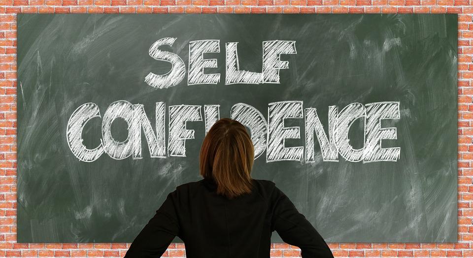 self confidence,女性